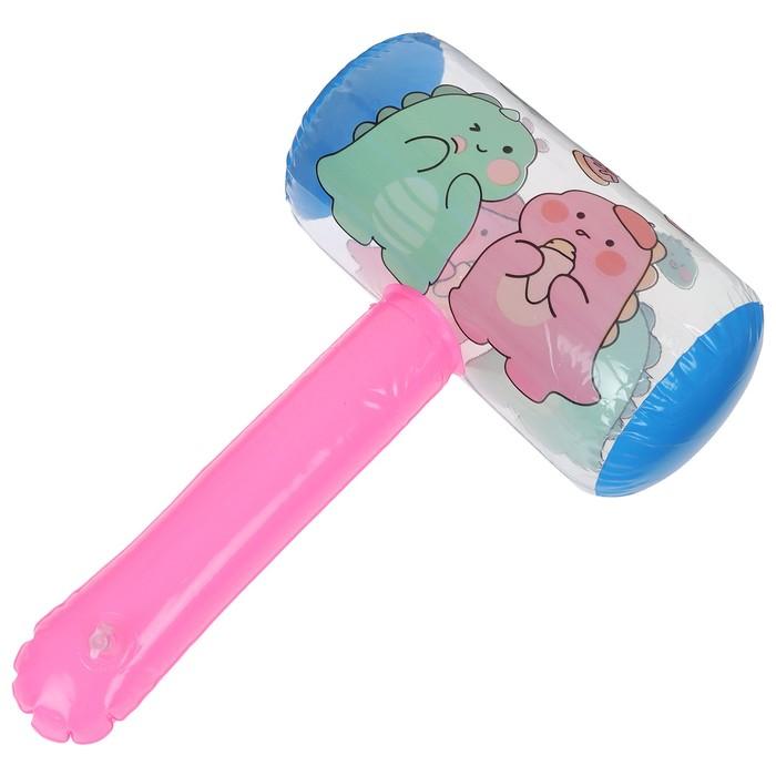 Игрушка надувная со звуком «Молоток», 40 см, цвета МИКС