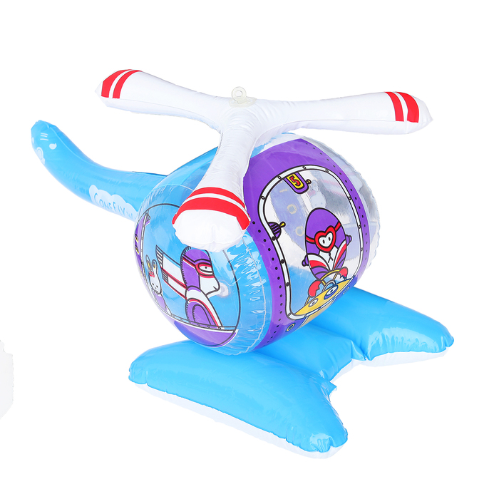Игрушка надувная «Вертолёт», 20 х 40 см