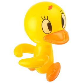Надувная игрушка со звуком «Утёнок», 30 см