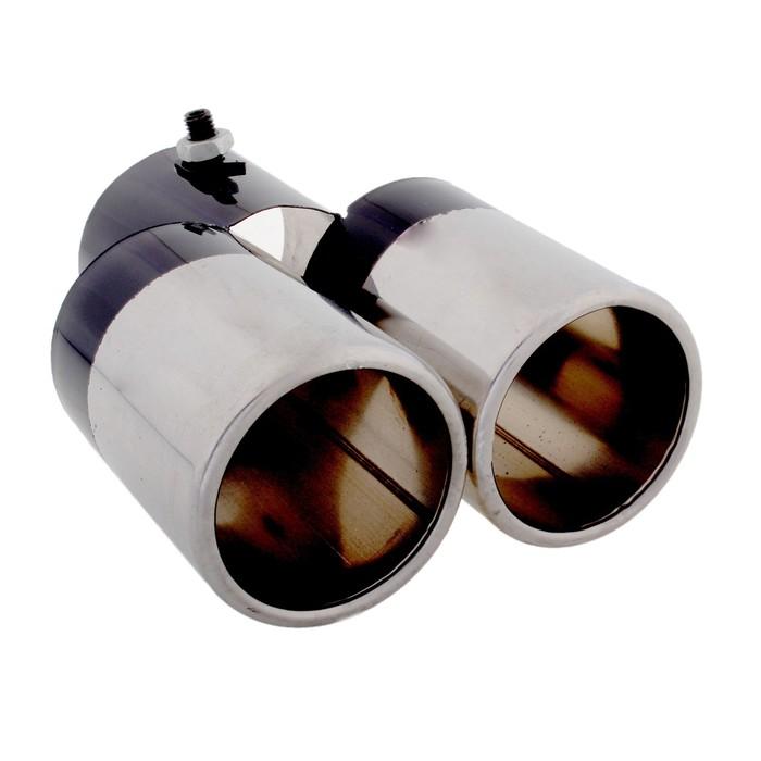 Насадка на глушитель двойная 150х63 мм, NGL-1216