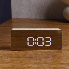 """Часы электронные """"Кержан"""", термометр, 7 х 15 см, от USB"""