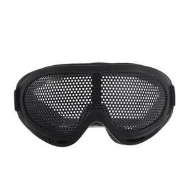 Glasses for riding motorcycles, a dirt-guard cover, reinforced black