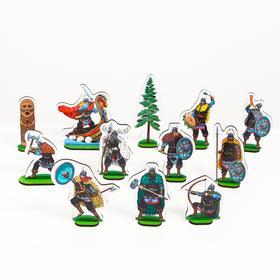 Набор «Викинги» 12 героев с аксессуарами