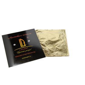 Поталь в книжке 14х14 см, 30 листов, Luxart Deco Potal, цвет МЕДЬ PL07V0030