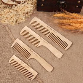 Wooden ASSORTED comb (FAS 25pcs) Euro-slot