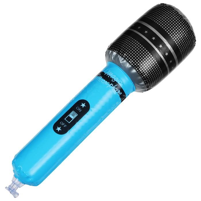 Игрушка надувная «Микрофон», 30 см, цвета МИКС