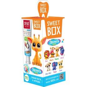 Набор Splat SweetBox: зубная паста, 20 мл + игрушка, со вкусом фруктового мороженого