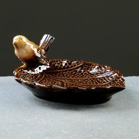 "Drinking bowl-stand ""Bird"" 11*15*7cm"