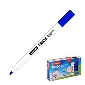 """Маркер для доски 3 мм Luxor """"Trios"""" синий, пулевидный, цена за 1 шт"""