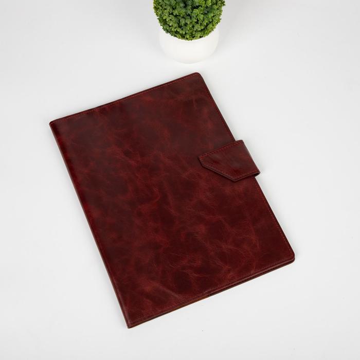 Папка для семейных документов на клапане, 2 комплекта, цвет коричневый - фото 775313