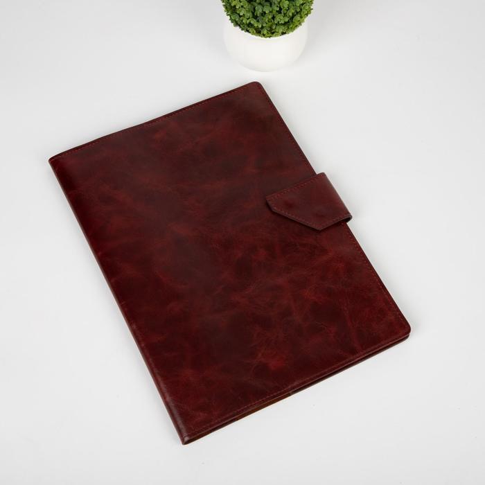 Папка для семейных документов на клапане, 4 комплекта, цвет коричневый - фото 775331