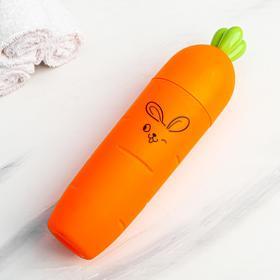 """Футляр для зубной щетки """"Зайка"""", 22.5 х 5,5 см - фото 4639098"""