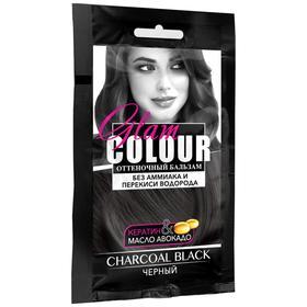 Оттеночный бальзам для волос FARA GC charcoal black, черный, 40 мл