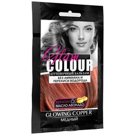 Оттеночный бальзам для волос FARA GC glowing copper, медный, 40 мл