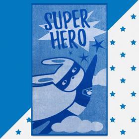 """Полотенце махровое """"Этель"""" Super hero, 70х130 см, 100% хлопок, 420гр/м2"""