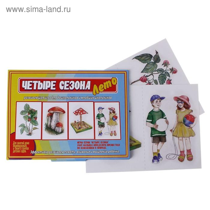 """Настольная игра """"Лето"""" Четыре сезона"""
