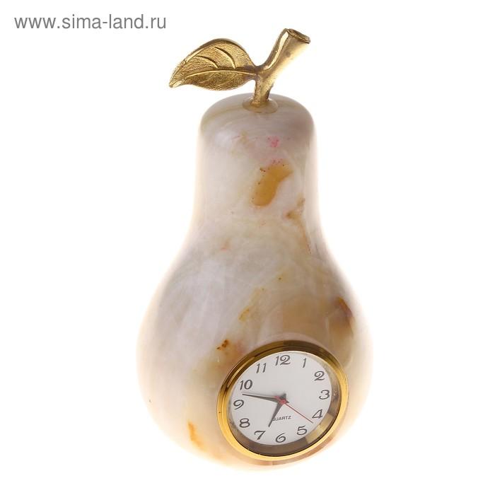 """Часы Груша 5"""" 12х5,5х3см Оникс"""