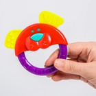 Набор игрушек-погремушек «Собачка и гантелька», 2 шт., цвет МИКС - фото 105532129
