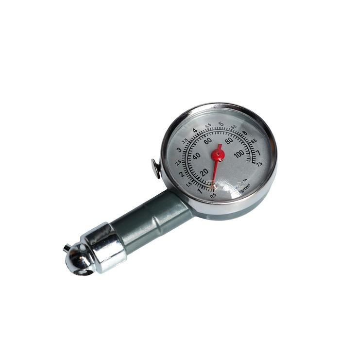 Манометр механический TORSO до 7.5 атм, сбросной клапан