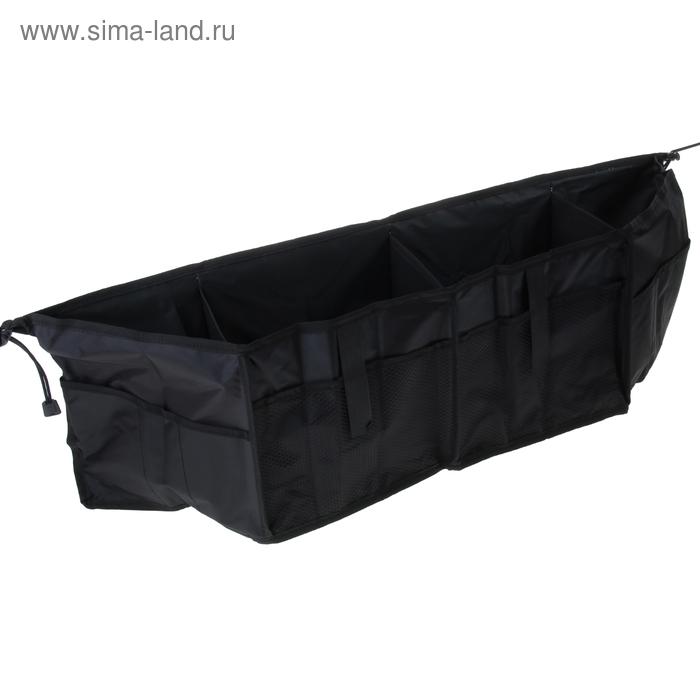 Органайзер в багажник, 80 х 22 х 16 см, нейлон