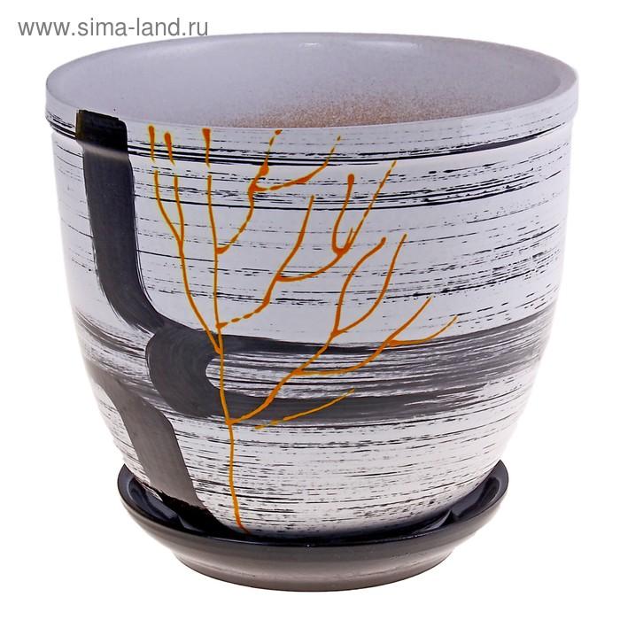 """Кашпо """"Одинокое дерево"""" 2,4 л"""
