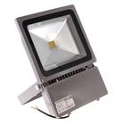 Светодиодный прожектор, 100W, IP66, белый теплый