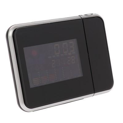 Будильник Luazon LC106, часы, проекция, календарь, температура, микс