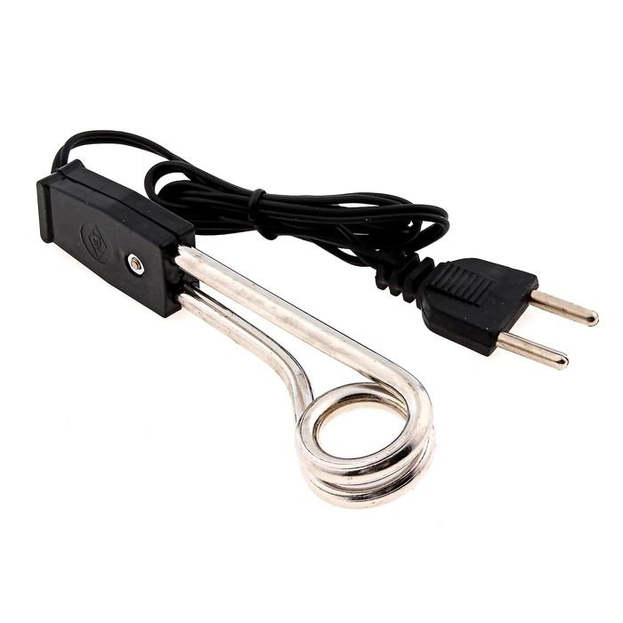 Электрокипятильник 500Вт, спираль кольцо, 12х2,5 см, (220V) (A1-X)