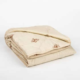 Одеяло всесезонное Адамас 'Овечья шерсть', размер 172х205 ± 5 см, 300гр/м2, чехол п/э Ош