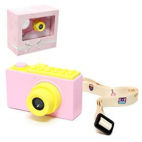 """Детский фотоаппарат """"Фото шик"""", цвет розовый"""