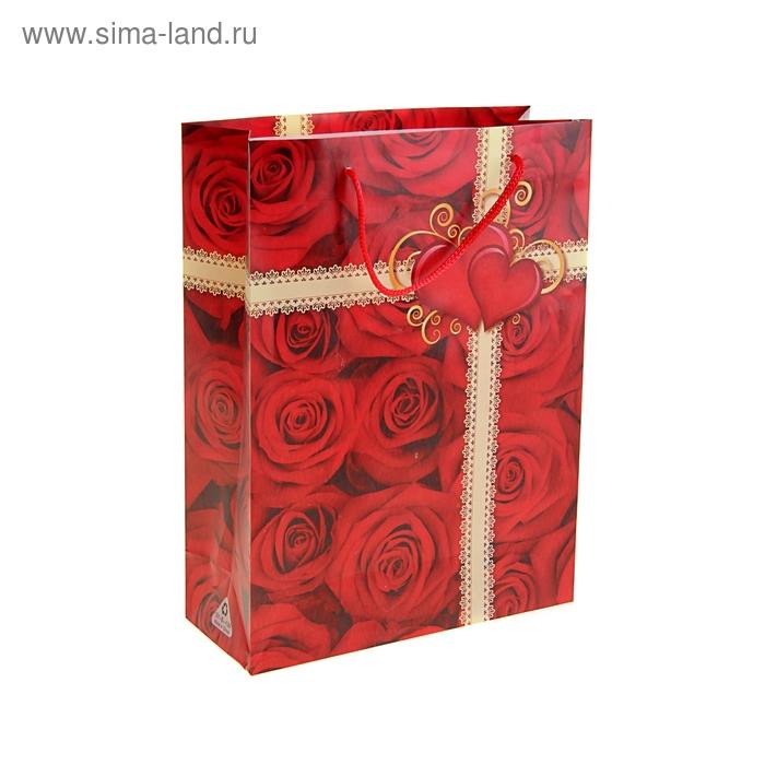 """Пакет пластиковый """"Миллион роз"""""""