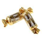 """Набор коробок 2 в 1 в форме конфеты """"Золотой подарок"""""""