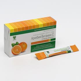 БАД ««Арнебия»», витамин С со вкусом апельсина, 10 саше по 5 г