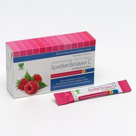 БАД ««Арнебия»», витамин С со вкусом малины, 10 саше по 5 г