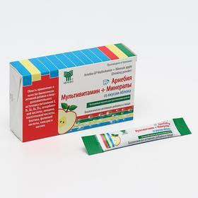 БАД ««Арнебия»», мультивитамин + минералы со вкусом яблока, 10 саше по 5 г