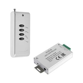Контроллер Ecola, для RGB ленты 14 х 7 мм, 12 В, 180 Вт, 15 А, IP20, радиопульт