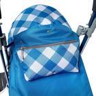 Санки-коляска «Ника детям 7-4», капри в клетку - фото 106142999