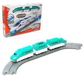 Железная дорога «Экспресс», работает от батареек