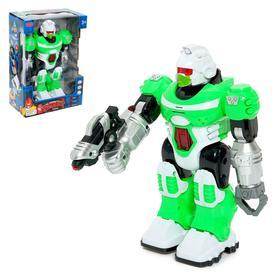 "Robot ""Blast"", battery-powered, lighting effects, Russian sound chip"