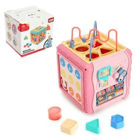 """Развивающая игрушка """"Забавный куб"""", световые и звуковые эффекты"""