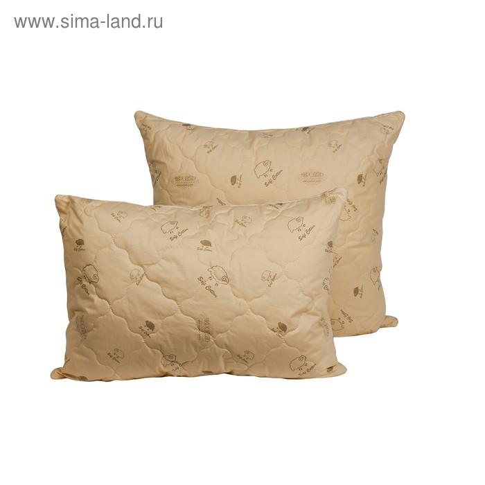 Подушка Миродель Овечья шерсть 70*70 см, овечья шерсть, тик
