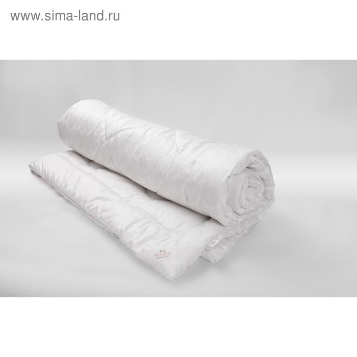 Одеяло Миродель всесезонное, искусственный лебяжий пух, 145*205 ± 5 см, микрофибра, 200 г/м2