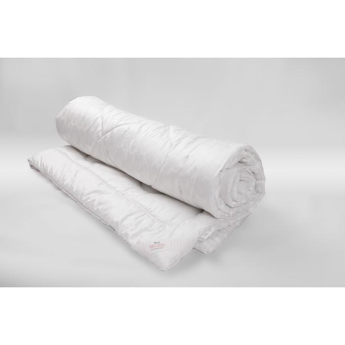 Одеяло Миродель всесезонное, искусственный лебяжий пух, 175*205 ± 5 см, микрофибра, 200 г/м2 - фото 62758