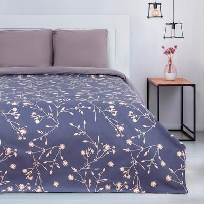 """Bedspread """"Ethel"""" Flowers, 150*215 cm, 100% cotton"""