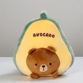 Мягкая игрушка «Авокадо», медведь, 25 см