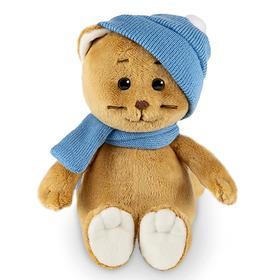 Мягкая игрушка «Колбаскин в шарфе и шапке», 20 см