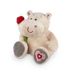 Мягкая игрушка «Бегемот Боня», 23 см