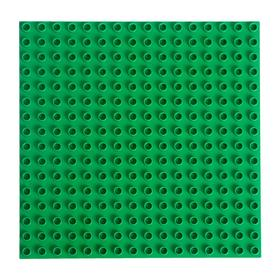 Base plate for constructor 25.5 * 25.5 green