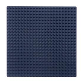 Base plate for constructor 19.5*19.5, grey MIX