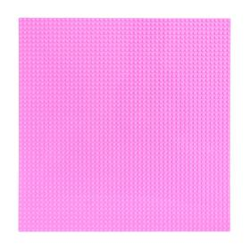 Base plate for constructor 40*40, pink